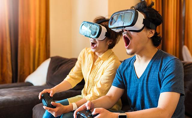 VR(仮想現実)